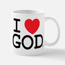I LOVE God! Mug