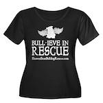 bullyfest_shirt10_white Plus Size T-Shirt