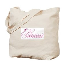 Policeman's Princess Tote Bag