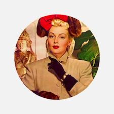 """Art Deco Best Seller 3.5"""" Button"""
