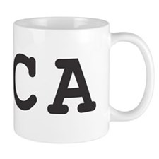 I Love CA Marijuana Coffee Mug