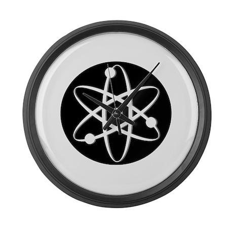 Atom - White Large Wall Clock