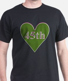 45th Wedding Anniversary T-Shirt