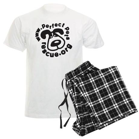 Perfect Pets Logo Men's Light Pajamas