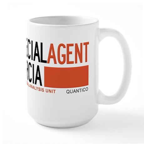 Special Agent Garcia Criminal Minds Large Mug