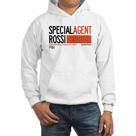 Special Agent Rossi Criminal Minds Hooded Sweatshi