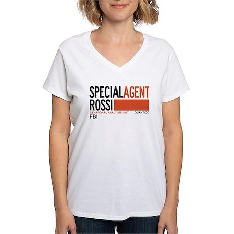 Special Agent Rossi Criminal Minds Women's V-Neck