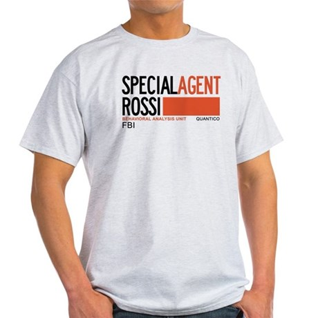 Special Agent Rossi Criminal Minds Light T-Shirt