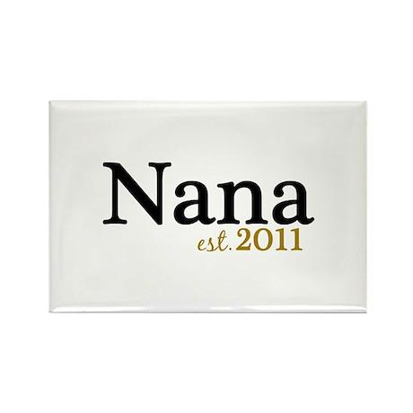 New Nana Est 2011 Rectangle Magnet (10 pack)