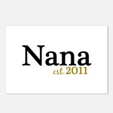 New Nana Est 2011 Postcards (Package of 8)