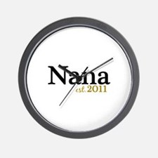 New Nana Est 2011 Wall Clock