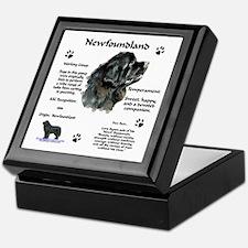 Newf 1 Keepsake Box