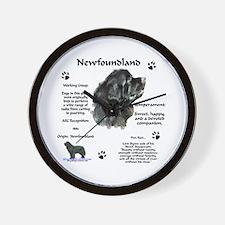 Newf 1 Wall Clock