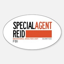 Special Agent Reid Criminal Minds Decal