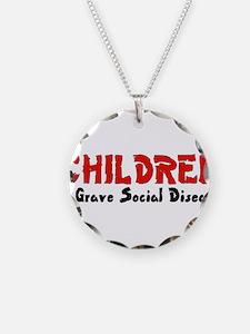 Children Social Disease Necklace