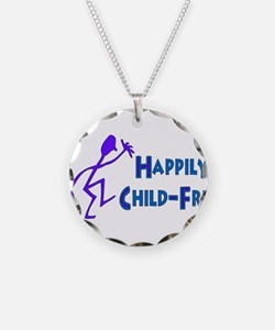 Happily Child-Free Necklace