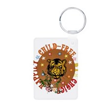 Happily Child-Free Keychains