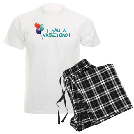 I Had A Vasectomy Men's Light Pajamas