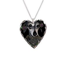 Tattoo Dog Necklace