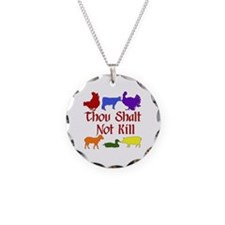 Thou Shalt Not Kill Necklace