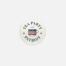 Tea Party Patriot Mini Button (10 pack)