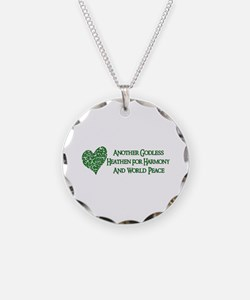 Godless For World Peace Necklace