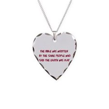 Flat Earth Historians Necklace