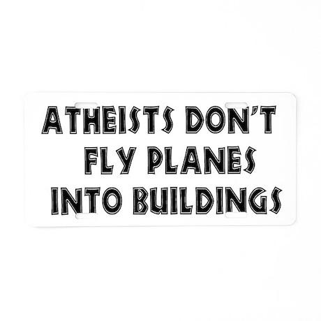 Atheist Truth Aluminum License Plate