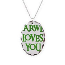 Darwin Loves You Necklace