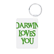 Darwin Loves You Keychains