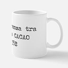 Caffe e Cacao Hex Mug (Italian)