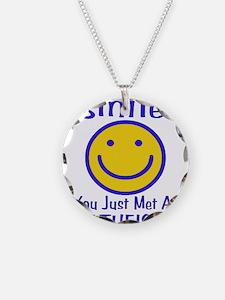 Atheist Smiley Necklace