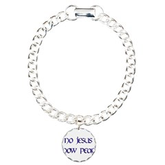 No Jesus Know Peace Bracelet