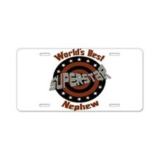 Superstar Nephew Aluminum License Plate