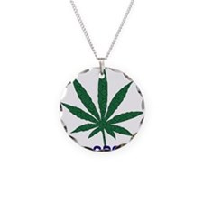 Go Marijuana Green Necklace