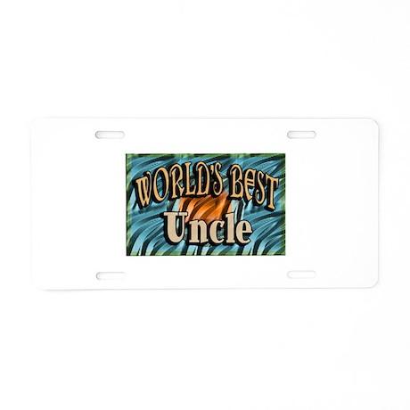 Best Uncle Aluminum License Plate