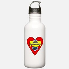 Wedding Anniversary Water Bottle