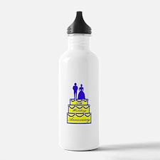 50th Wedding Anniversary Water Bottle