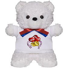 20th Wedding Anniversary Teddy Bear
