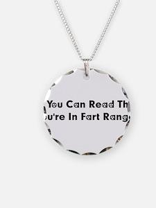 Fart Range Necklace
