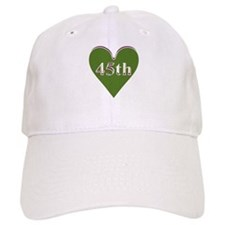 45th Wedding Anniversary Baseball Cap