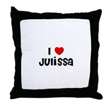 I * Julissa Throw Pillow
