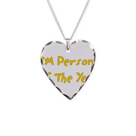 Person Of The Year Necklace Heart Charm
