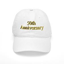 50th Wedding Anniversary Baseball Cap