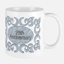 25th Wedding Anniversary Mug