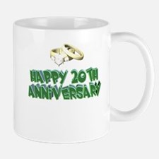 20th Wedding Anniversary Mug