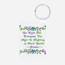 Be Kind Pindar Quote Keychains