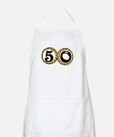 50th Wedding Anniversary Apron