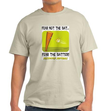 Fear The Batter Ash Grey T-Shirt