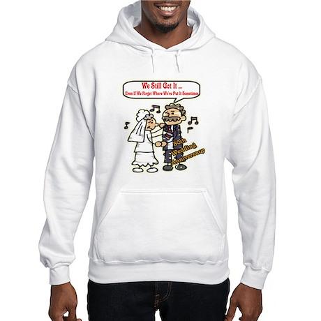 50th Wedding Anniversary Hooded Sweatshirt